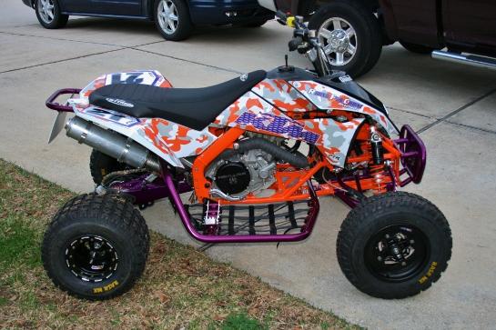 2009 Ktm 505 Sx Pro Level Race Quad For Sale