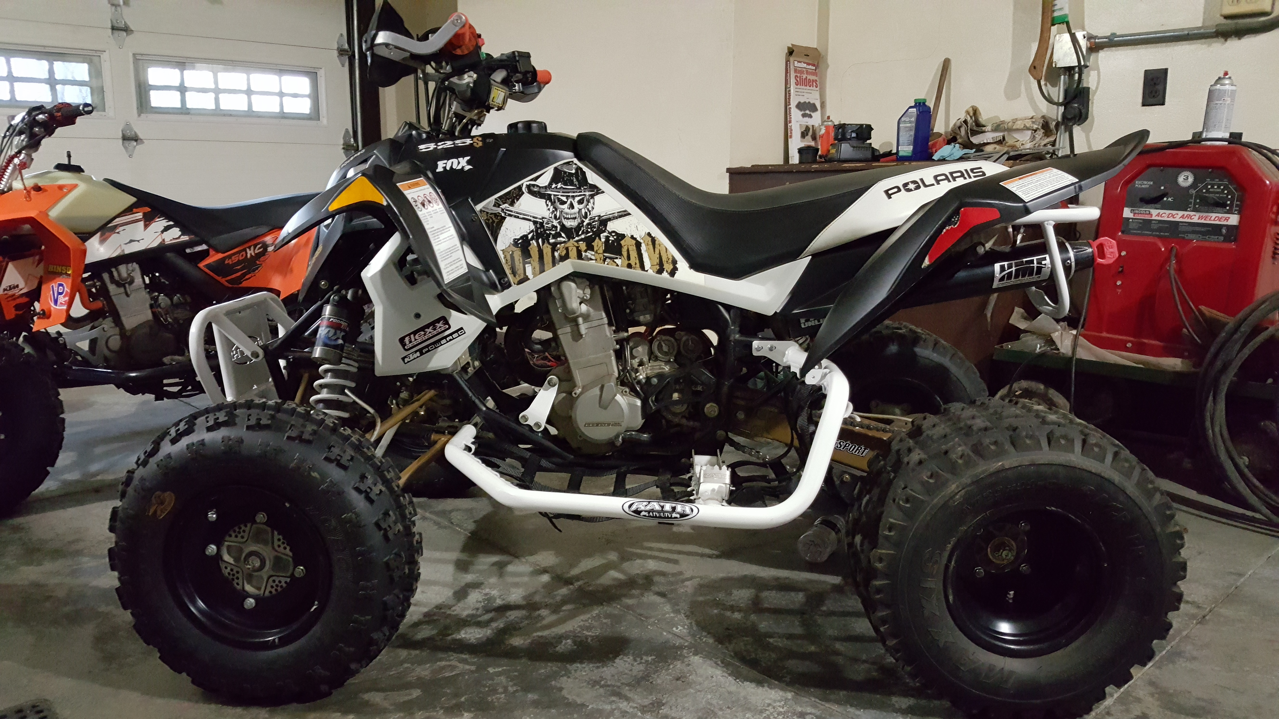 2008 polaris outlaw 525 limited edition