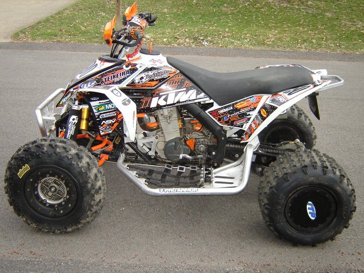 Race Ready Ktm 525 Xc Woods Quad