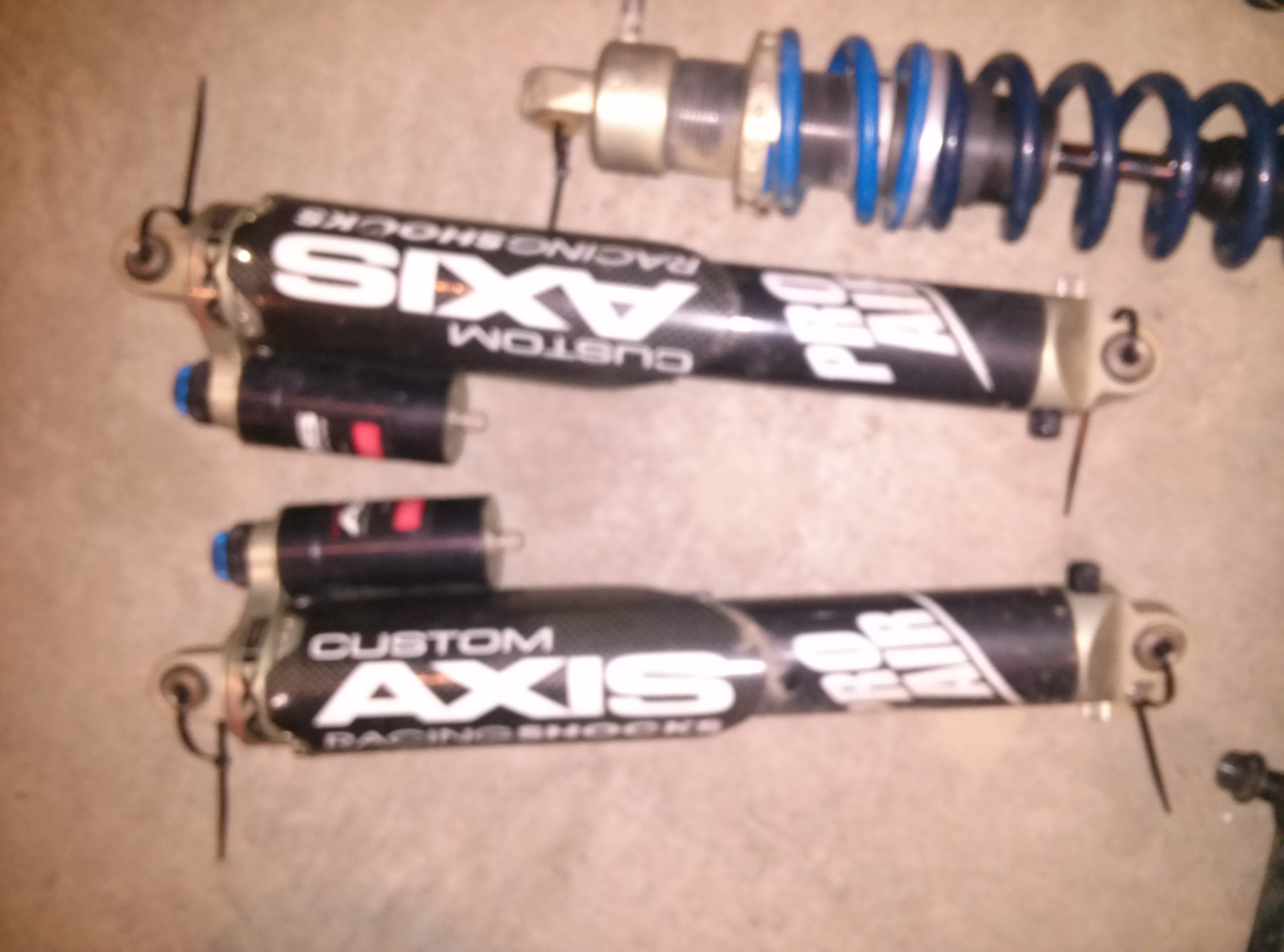 Custom Axis shocks