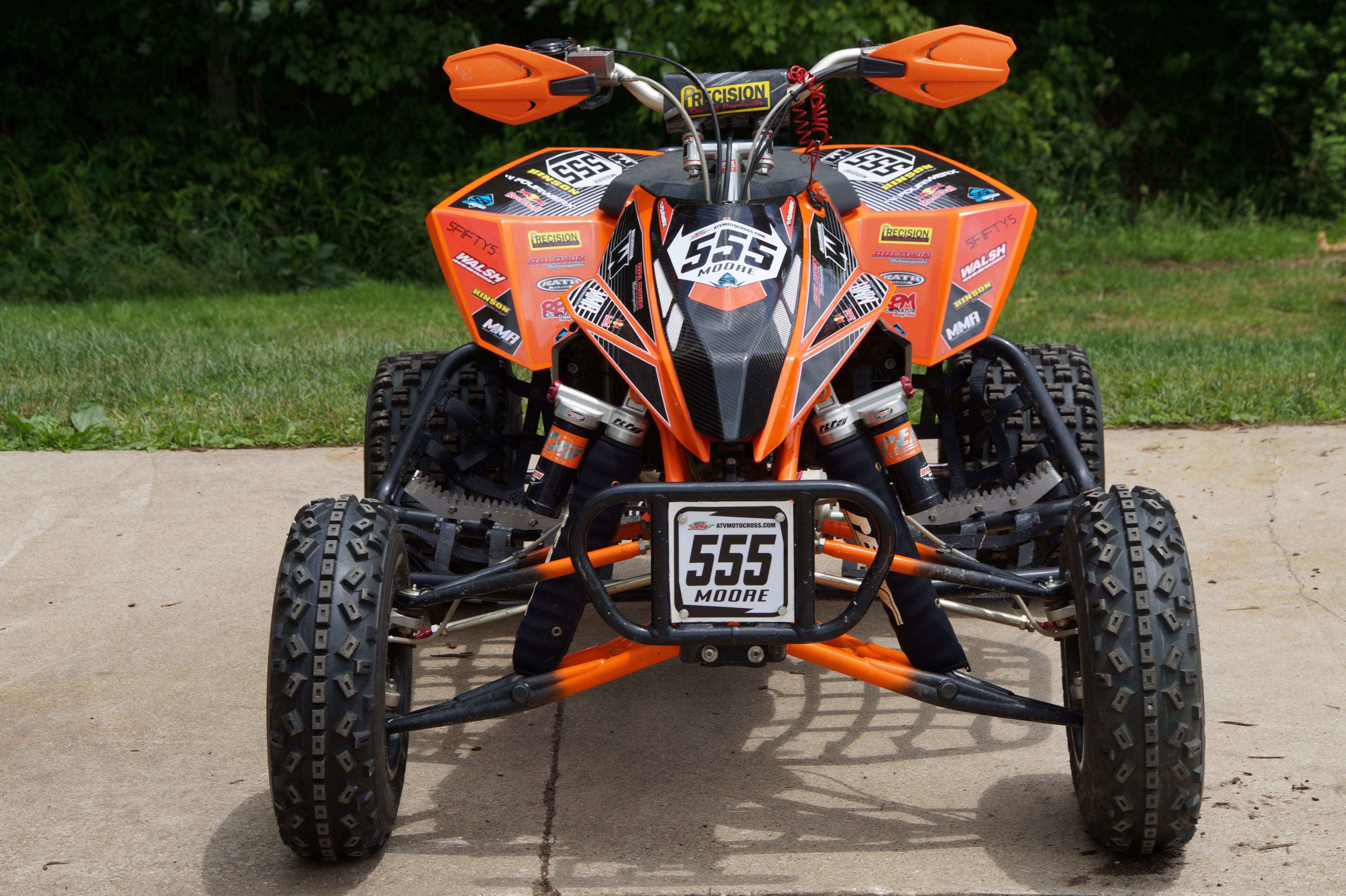 My 2014  U0026quot Factory Edition U0026quot  Ktm 450 Sx Race Quad