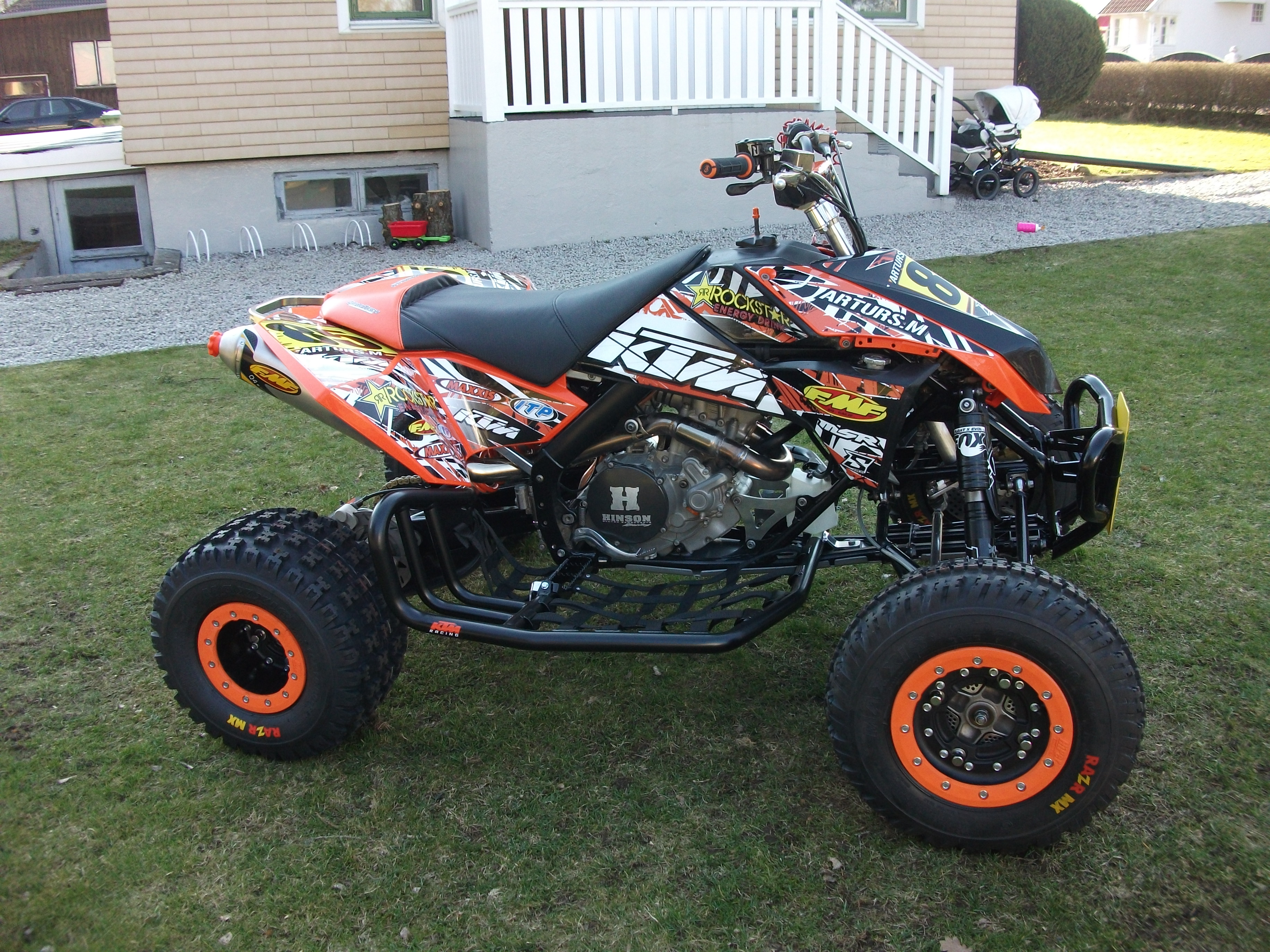 E Sticky Graphics Ktm Atv