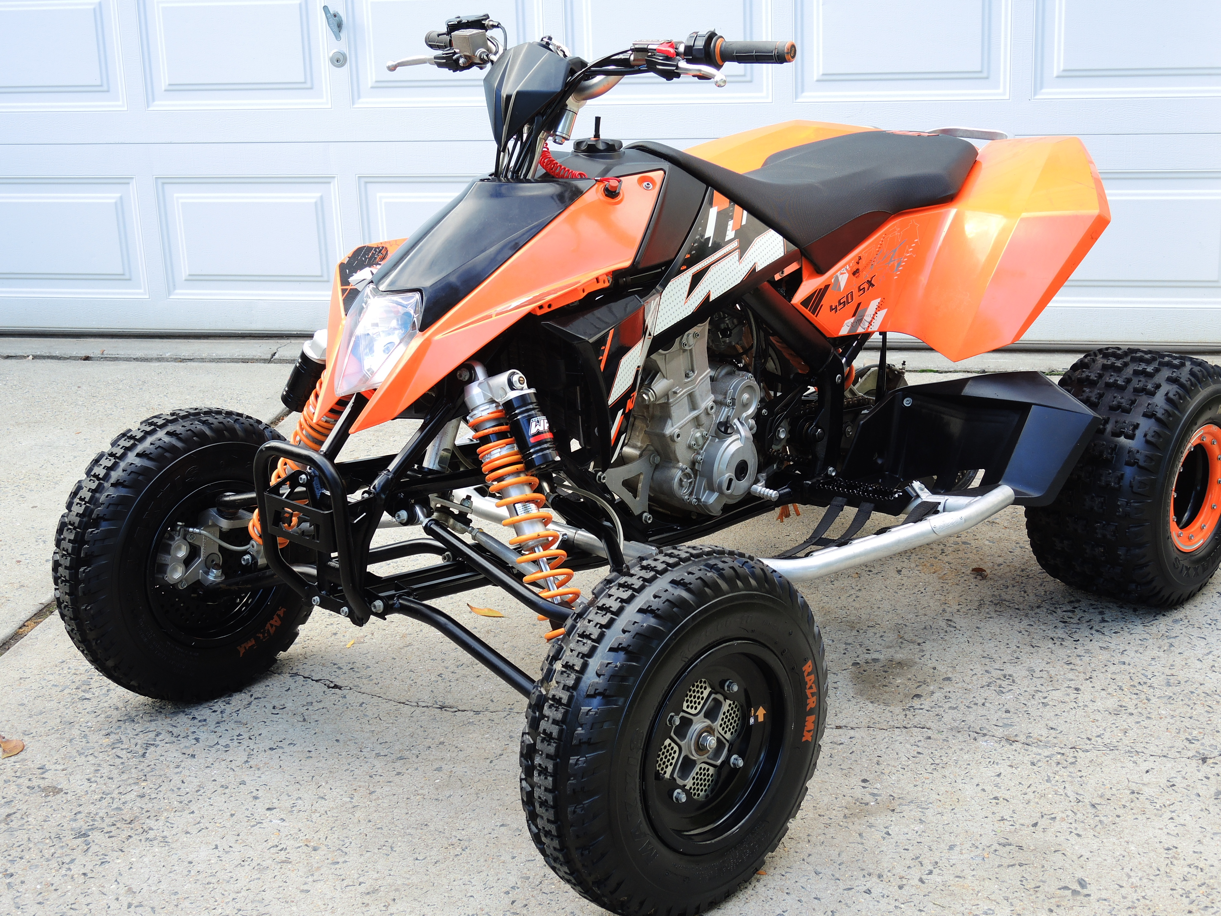 Like New Ktm 450 Sx Atv For Sale