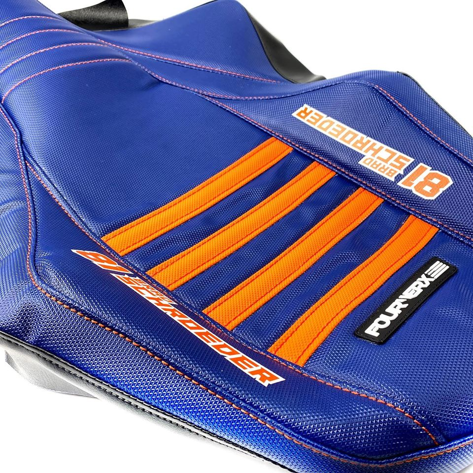 KTM blue seat covers available from Fourwerx Carbon-fourwerx-ktm-seat-pic.jpg