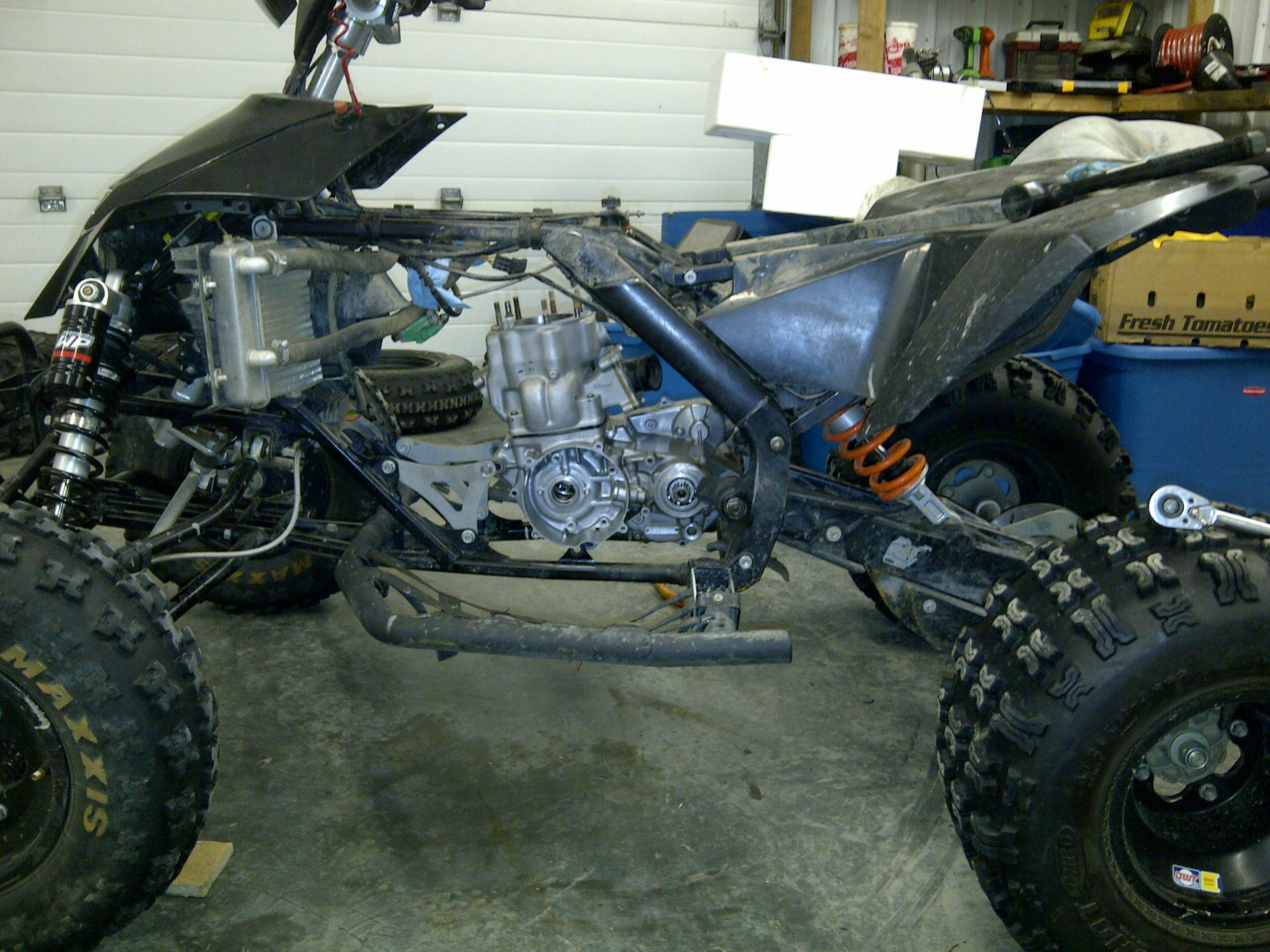 ktm/cr500 2 stroke conversion