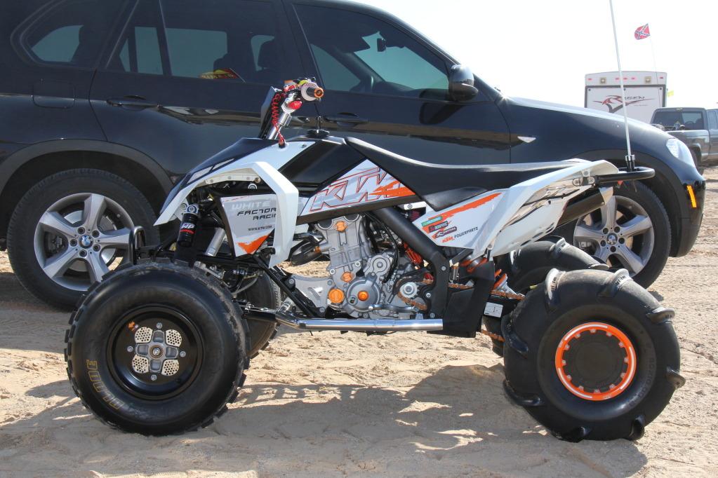 Dirtbike Engine In Atv