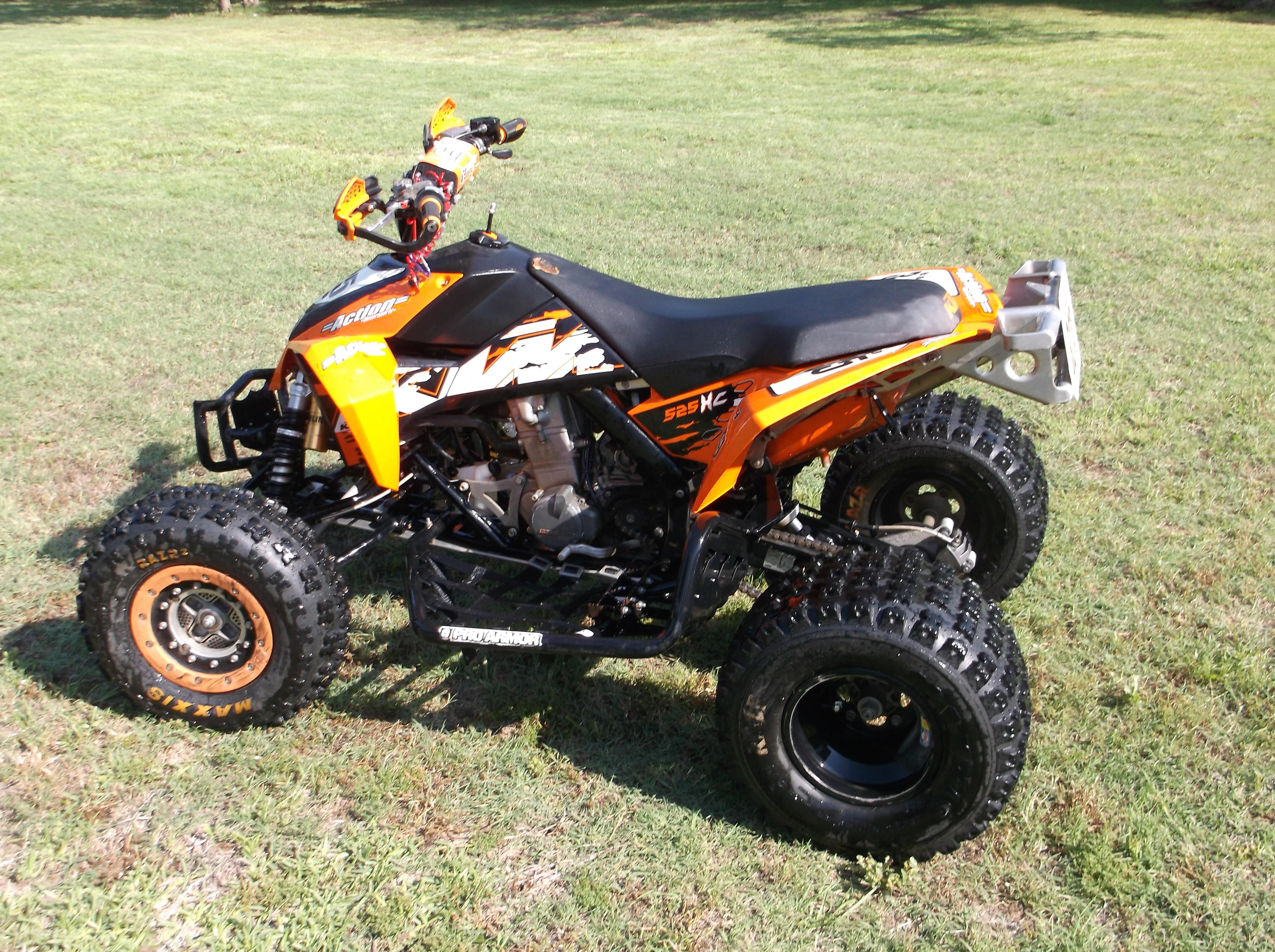 Used 2008 KTM 525 XC ATV Transaction Price $5,999