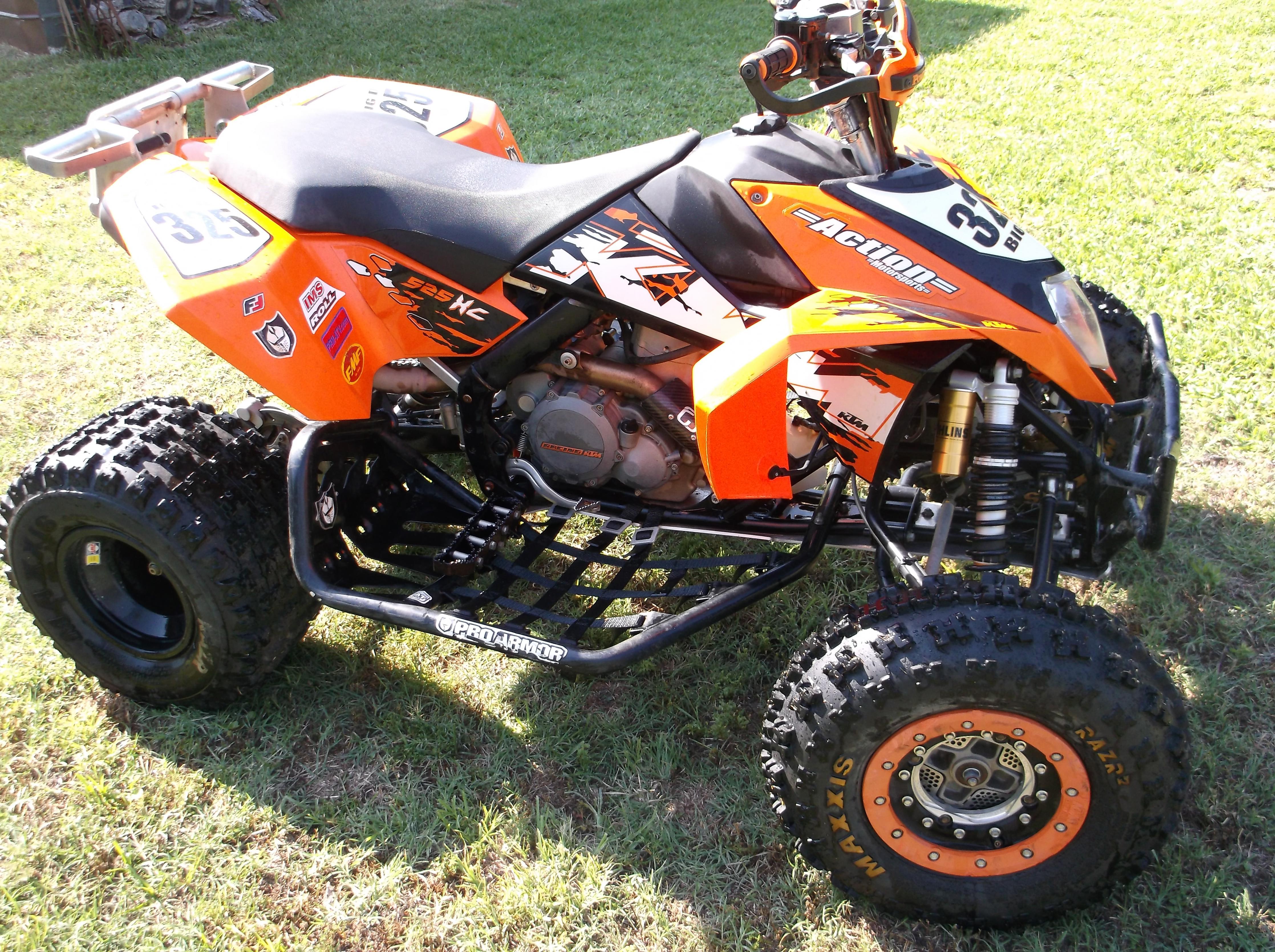 KTM ATVs 2008 - Testbericht
