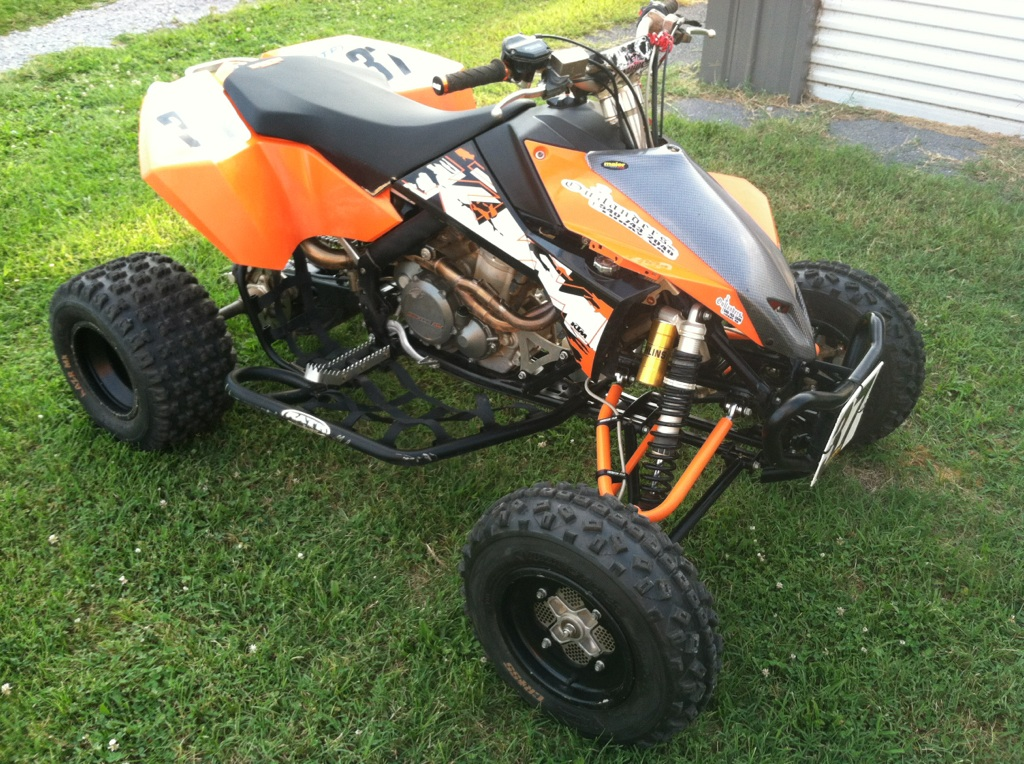 2008 ktm 450 race quad! extremely reliabe..