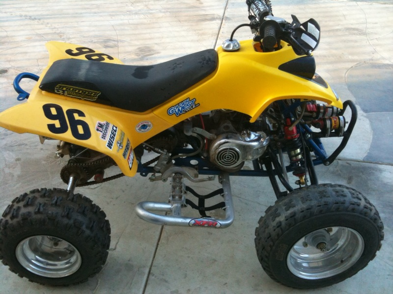 90cc 2 stroke full race mini quad!