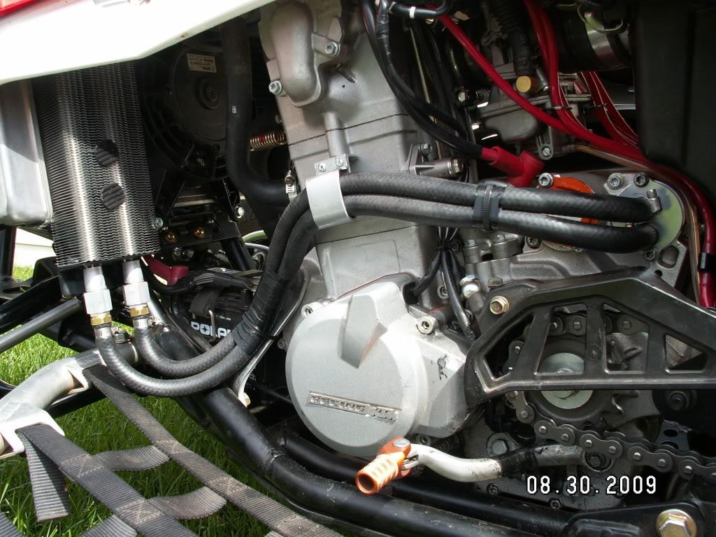 Polaris Outlaw 525 >> Outlaw oil cooler setups - post your details
